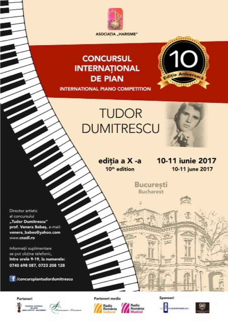 Concursul Internațional de Pian Tudor Dumitrescu
